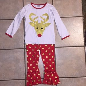 Size 5 Reindeer Outfit